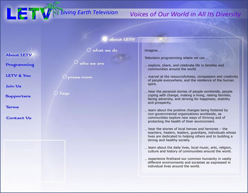 living earth television